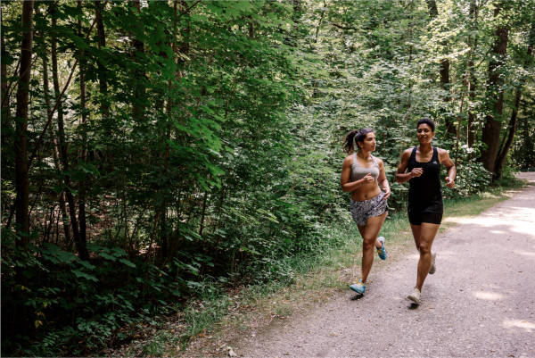 why is a 2km run good for you?