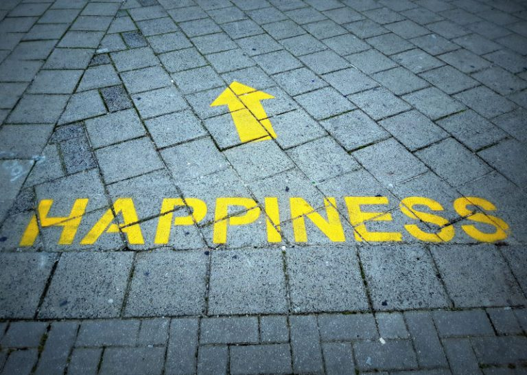 does happiness come from contentment