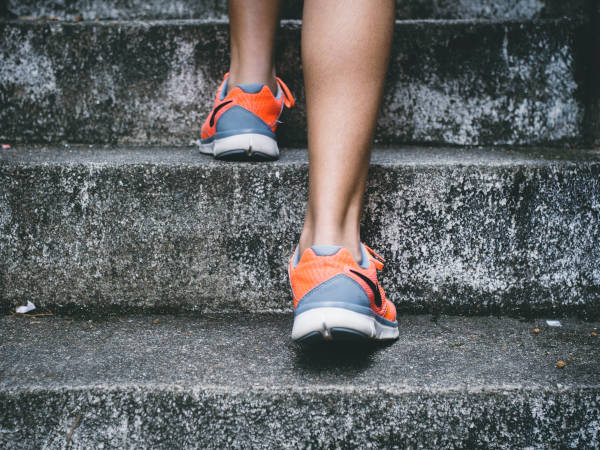 Running 1km a day won't lead to stressed joints